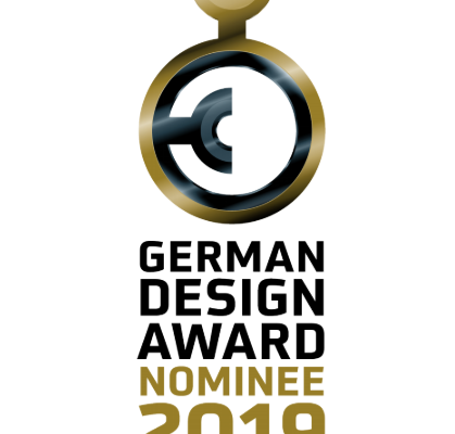 We are nominated for the German Design Award 2019