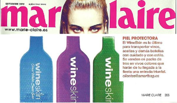 Wineskin en Marie Claire